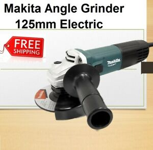 Makita Angle Grinder 850W 125mm 5 Inch Corded Electric Portable Powerful Metal