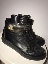 Versace Versus Sneakers Gold Donatella Gianni Shoes High Top Luxury $600