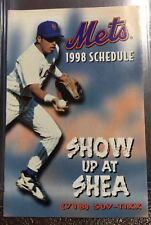 1998 New York Mets Schedule - Show Up at Shea!