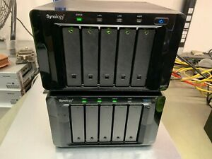 Synology DiskStation DS1511+ and DX513 Expansion, 10x 3TB SATA HDD's