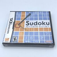 Sudoku Gridmaster (Nintendo DS, 2006) New And Sealed