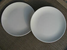 IKEA PLATE 2 DINNER PLATES SWEDEN TURKEY PALE GRAY 13900 EXCELLENT