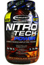 NEW MUSCLETECH NITRO TECH WHEY ISOLATE PROTEIN DIETARY SUPPLEMENT MUSCLE HEALTHY