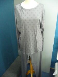 Damen Pyjama von Mey Night Punkte Art. 14942 Fb. Shale NEU!