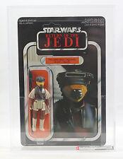 Vintage Star Wars MOC CLEAR UP AFA 90 Return of the Jedi Leia Boushh Toy Toni