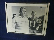 1987 Nfl Bill Parcells & Phil Simms of New York Giants Vintage Wire Press Photo