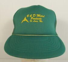 B&D Metal Products Mesh Trucker Hat Snapback