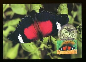 1998 Australia Red Lacewing Butterfly Maxi Card Cairns. SG 1811. PHQ