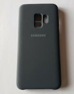 Unused OEM Black Samsung Galaxy S9 Silicone Cover in Bulk Pkg - EF-PG960TBEGUS