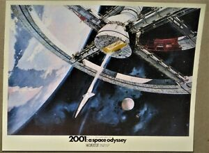 """Stanley Kubrick 2001: A Space Odyssey UK Set of 16 8"""" x 10"""" Lobby Cards Reprints"""