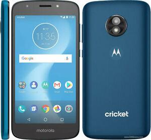 Brand New Motorola Moto e5 Cruise XT1921-2 - Navy - 16Gb - CRICKET WIRELESS