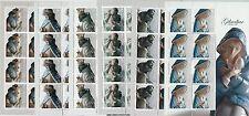 64441 -  GIBRALTAR - STAMPS - 2007  CHRISTMAS: Art Sculptures  MINIATURE SHEETS