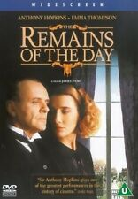 REMAINS OF THE DAY (2001 Anthony Hopkins) - DVD - REGION 2 UK