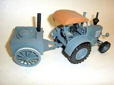 Modelik 11/07 -  Lanz-Bulldog  mit Gulaschkanone  1:25  mit Lasercutteilen
