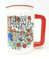 Disney's Dixie Landings Resort Vintage Thermos Mug Splash Mountain 1996