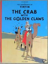 ADVENTURES OF TINTIN #9 ~ CRAB WITH THE GOLDEN CLAWS ~ HERGE ~ ILLUSTRATED SC