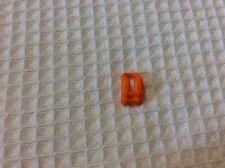 LEGO Frends Minifig Life Vest Jacket Boat Rafting - Orange New!