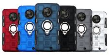 For Moto X4 Motorola X4 Ring stand Bracke Car Magnet Phone Case 10Pcs/lot