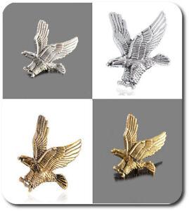 Spilla Pin ´ S Aquila Metallo 25 MM X 35 MM Vintage Colori Argento O Oro