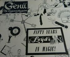 Genii The Conjurors Magazine April 1967 50 Years of E Loyd Enochs Old Magic