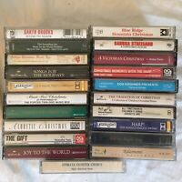 Lot of 18 Christmas Music Tape Cassette Various Artists Free Shipping