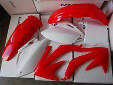 RACE TECH PLASTIC KIT HONDA CRF450 CRF450R 2005 2006.  PLATES  SHROUDS  FENDERS