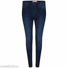 Women's Ladies Denim Stretchy Skinny Jegging Jeans with pockets PLUS  Sizes 8-28