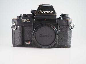 CANON F1 AE F-1 NEW 35MM FILM MANUAL CLASSIC SLR CAMERA  TAKES FD LENSES