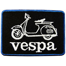 VESPA Logo Embroidered Iron On Patch #PVP011