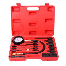 17pc Pro Diesel Engine Cylinder Compression Tester Tool Kit 1000 PSI USA SHIP