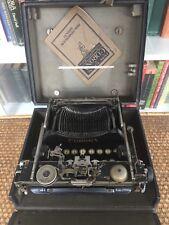 Vintage Smith Corona 3 Folding Typewriter S/No. 228875 1917-1919.