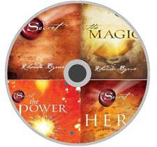 The Secret Series By Rhonda Byrne - The Secret, Magic, Power & Hero NON AUDIO CD