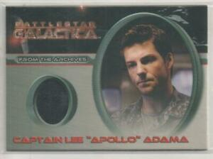 "Battlestar Galactica Season 1 Costume Card No.C19 ""Captain Lee (Apollo) Adama"""