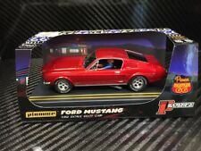 Pioneer Slot Car 1968 Ford Mustang Fastback GT Candy Red Route 66 P057