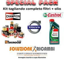 KIT TAGLIANDO FILTRI E OLIO VOLVO S80 2.4 D 96KW 131CV 10/01- 07/06
