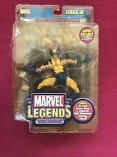 Marvel Legends Uncanny X-Men WOLVERINE 2002 Series III 700156 32 Page Comic Book