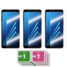 3x Samsung Galaxy A8 2018 Panzerglas 9H Panzerglasfolie Panzerfolie Schutzfolie