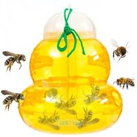 Reusable Wasp Trap 6 Tunnel Insect Hornets Bees Killer Yellow Jackets Catcher US