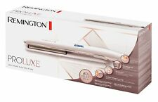 Remington Rose Gold Hair Straighteners ProLuxe Women's Ceramic OptiHeat - S9100