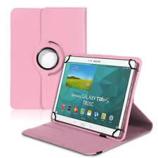 Tablet Tasche für 10 10.1 Zoll Universal Cover 360° Hülle Ständer Case Etui Rosa