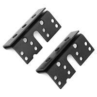 """2P Headboard / Footboard Bed Rail Hanger Bracket For 2"""" Double Hook  3-3/4"""""""