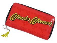 Ladies Wonder Woman Large Purse in red