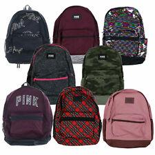 Victoria's Secret, розовый рюкзак, ранец для книг, школьный рюкзак карманы на молнии новый новый с ценниками Vs