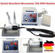 Dental Lab Marathon Micromotore 35K rpm+Straight manipolo+contra angle manipolo