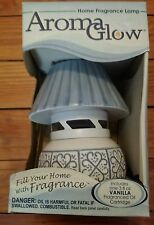 BRAND NEW Aroma Glow Home Fragrance Lamp w/ Vanilla Oil Cartridge * HTF RARE