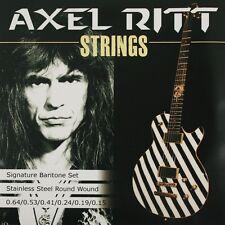 Pyramid Axel Ritt strings. 015 - .064 acero inoxidable e-guitarra cuerdas frase e-Guitar