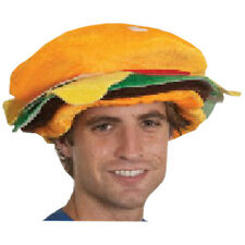 Silly Hat for Summer BBQ Fun Hamburger Costume Hat Great for the 4th of July
