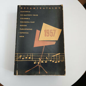 Electrola Gesamtkatalog 1957, ca. 1000 Seiten