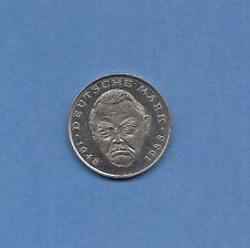 2 Dm Münzen Der Brd Mit L Erhard Ab 1988 Günstig Kaufen Ebay