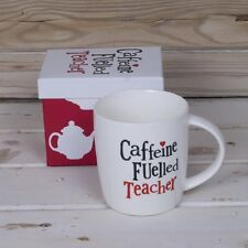 The Bright Side Teacher Mug - Caffeine Fuelled Teacher
